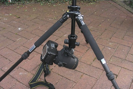 Giottos MT8240B Tripod & MH1312-652 Ball Head Review