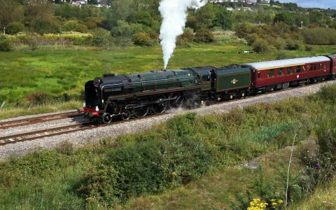 Duke of Gloucester Steam Locomotive