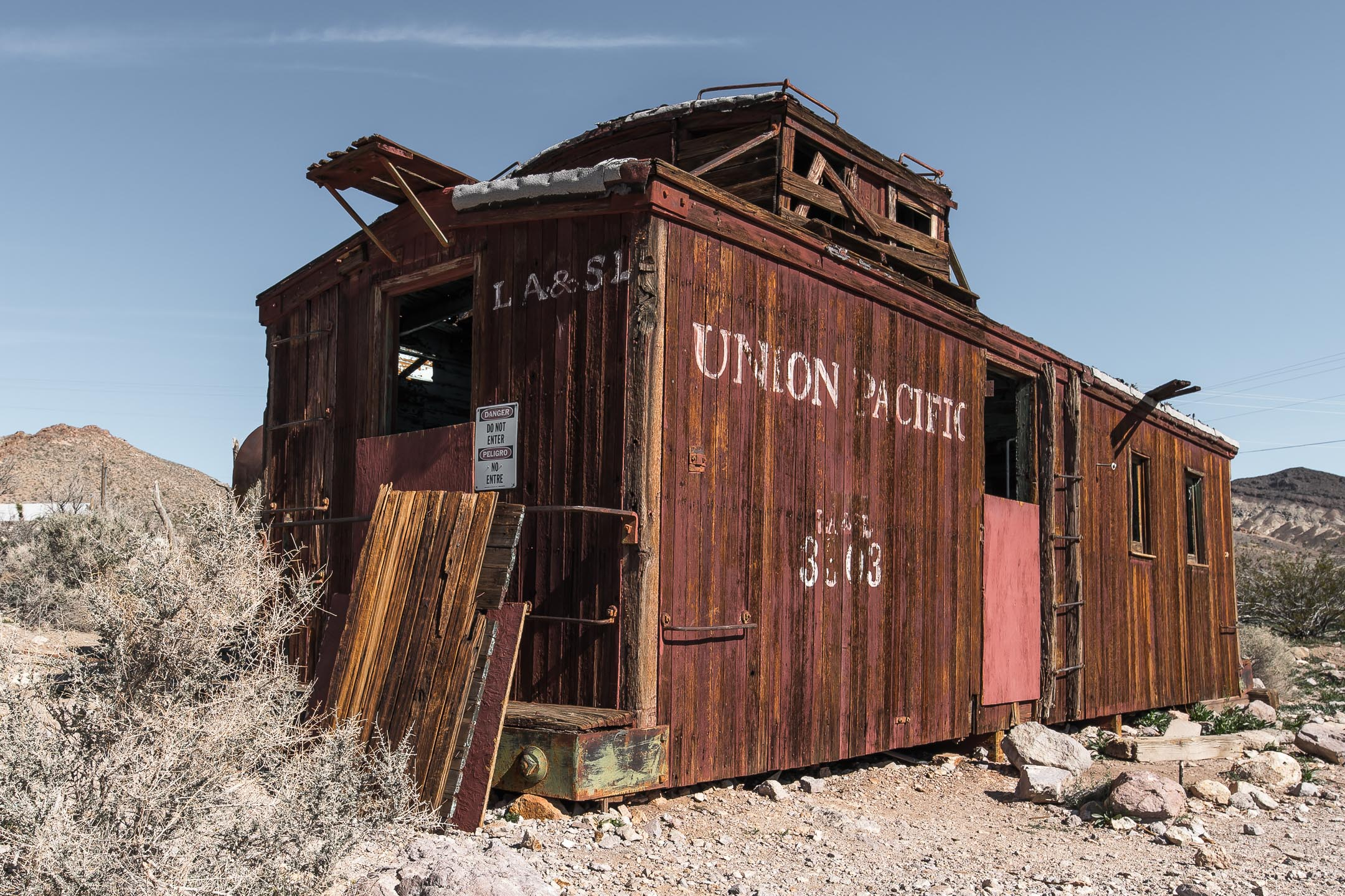Old Union Pacific Caboose